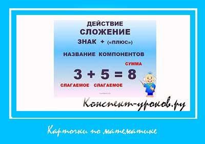 Карточки-по-математике-для-начальных-классов